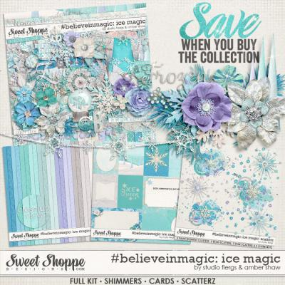 #believeinmagic: Ice Magic Collection by Amber Shaw & Studio Flergs