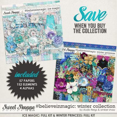 #believeinmagic: Winter Collection by Amber Shaw & Studio Flergs