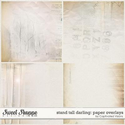 Stand Tall Darling: Paper Overlays by Captivated Visions