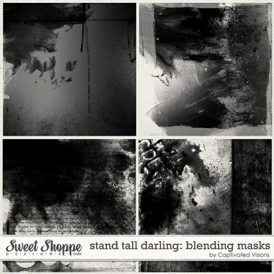 Stand Tall Darling: Blending Masks by Captivated Visions