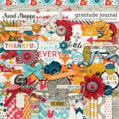 Gratitude Journal  by Digilicious Designs & Tickled Pink Studio