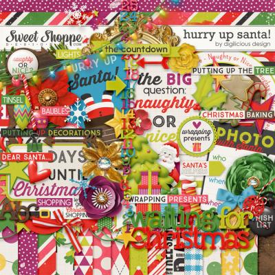 Hurry Up Santa! {Kit} by Digilicious Design