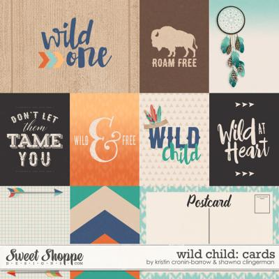 Wild Child: Cards by Kristin Cronin-Barrow and Shawna Clingerman
