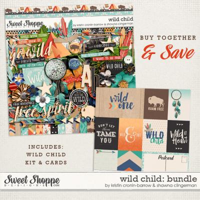 Wild Child: Bundle by by Kristin Cronin-Barrow and Shawna Clingerman