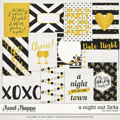 A Night Out 3x4s by Traci Reed