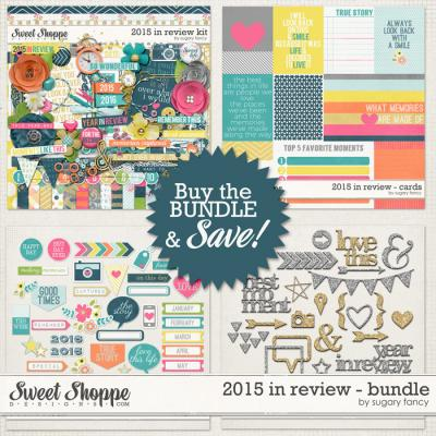 2015 in Review Bundle by Sugary Fancy