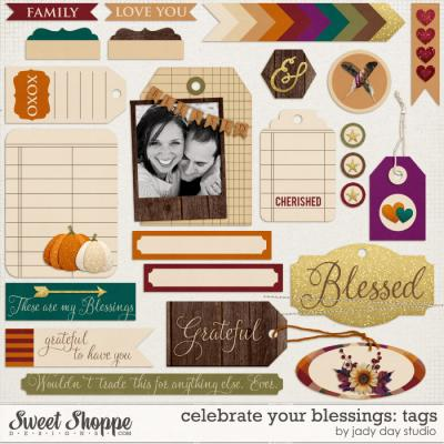 Celebrate Your Blessings: Tags by Jady Day Studio