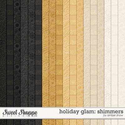 Holiday Glam: Shimmers by Amber Shaw