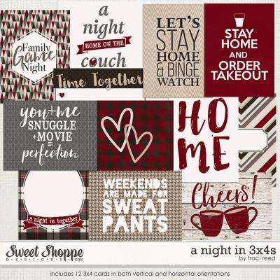 A Night In 3x4s by Traci Reed