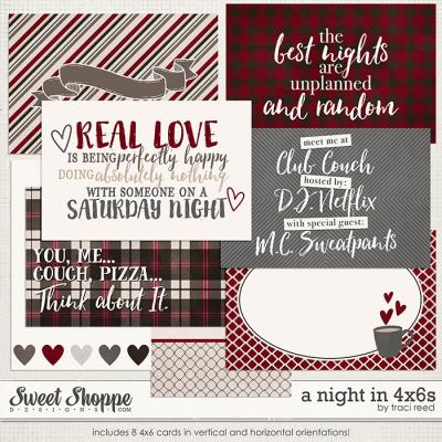 A Night In 4x6s by Traci Reed