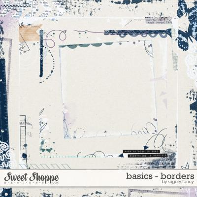 Basics - Borders by Sugary Fancy