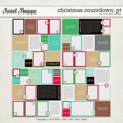 Christmas Countdown: Pocket Templates
