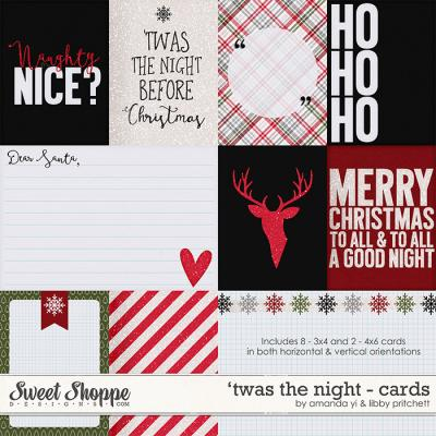 'Twas the Night : Cards by Amanda Yi & Libby Pritchett