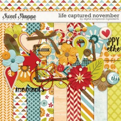 Life Captured November by Digital Scrapbook Ingredients