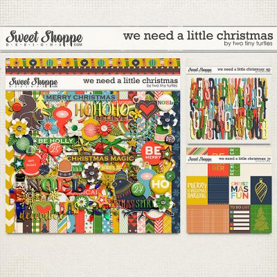 We Need A Little Christmas: Bundle by Two Tiny Turtles