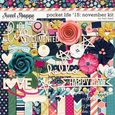 Pocket Life '15: November Kit by Traci Reed