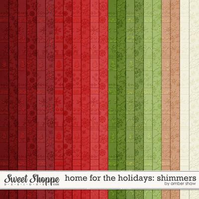 Home for the Holidays: Shimmers by Amber Shaw