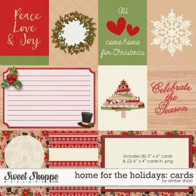 Home for the Holidays: Cards by Amber Shaw