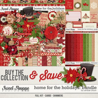 Home for the Holidays Bundle by Amber Shaw