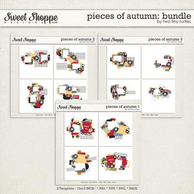 Pieces Of Autumn: Bundle by Two Tiny Turtles
