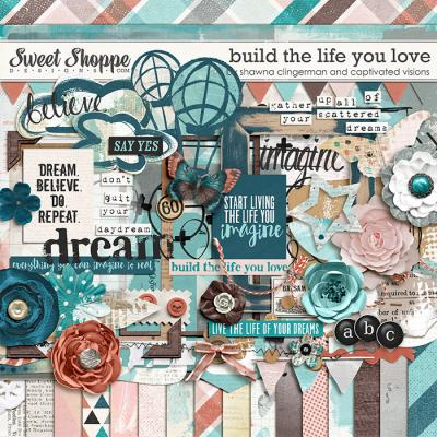 Build The Life you Love by Shawna Clingerman and Captivated Visions
