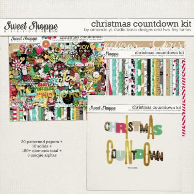Christmas Countdown by Amanda Yi, Studio Basic Designs & Two Tiny Turtles