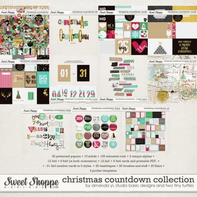 Christmas Countdown : Collection by Amanda Yi, Studio Basic Designs & Two Tiny Turtles