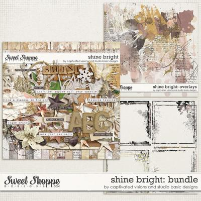 Shine Bright: Bundle by Captivated Visions and Studio Basic Designs