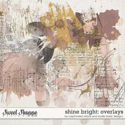 Shine Bright: Overlays by Captivated Visions and Studio Basic Designs