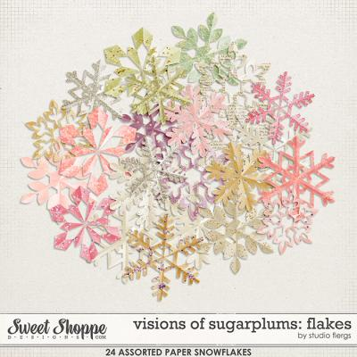 visions of sugarplums: FLAKES by Studio Flergs