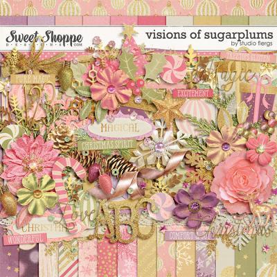 visions of sugarplums by Studio Flergs