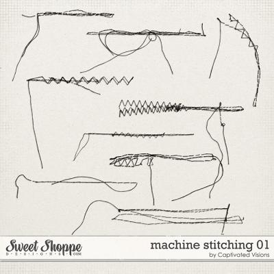 Machine Stitching 1 by Captivated Visions
