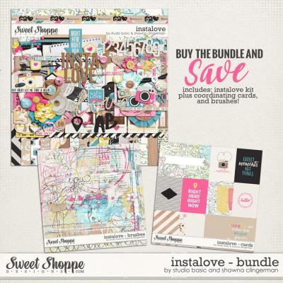 Instalove Bundle by Shawna Clingerman and Studio Basic