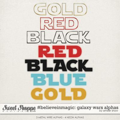 #believeinmagic: Galaxy Wars Alphas by Amber Shaw