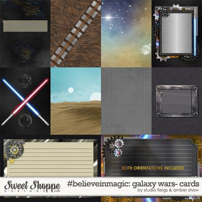 #believeinmagic: Galaxy Wars Cards by Amber Shaw & Studio Flergs