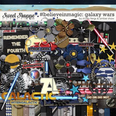 #believeinmagic: Galaxy Wars by Amber Shaw & Studio Flergs