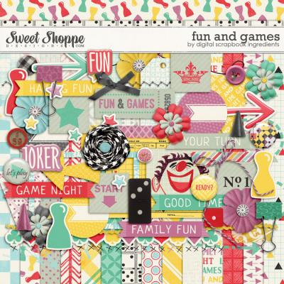 Fun And Games by Digital Scrapbook Ingredients