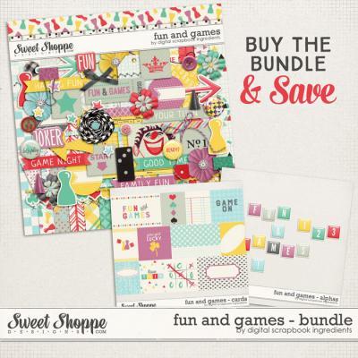 Fun And Games Bundle by Digital Scrapbook Ingredients