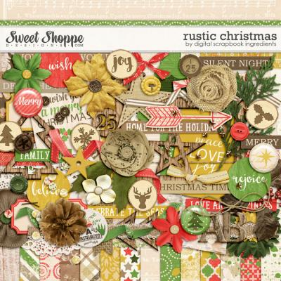 Rustic Christmas by Digital Scrapbook Ingredients