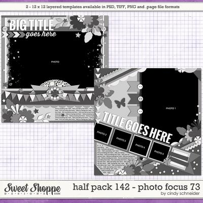 Cindy's Layered Templates - Half Pack 142: Photo Focus 73 by Cindy Schneider