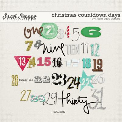 Christmas Countdown: Days by Studio Basic