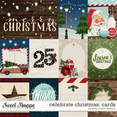 Celebrate Christmas: Cards by Kristin Cronin-Barrow