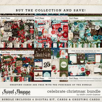 Celebrate Christmas: Collection by Kristin Cronin-Barrow