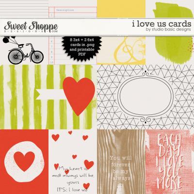 I Love Us Cards by Studio Basic