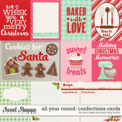All Year Round: Confections Cards by Jady Day Studio and Traci Reed