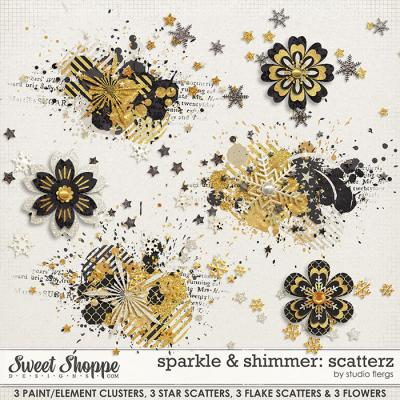 sparkle & shimmer: SCATTERZ by Studio Flergs