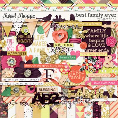 Best.Family.Ever Kit by Sugary Fancy