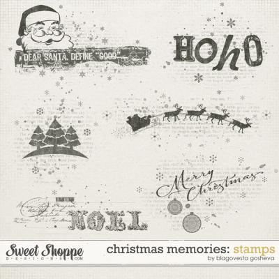 Christmas Memories: Stamps by Blagovesta Gosheva