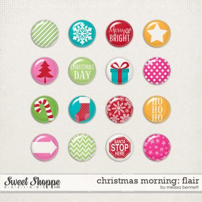 Christmas Morning Flair by Melissa Bennett