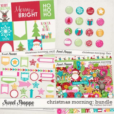 Christmas Morning Bundle by Melissa Bennett